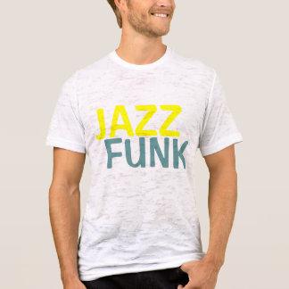 O funk do jazz desvaneceu-se t-shirt camiseta