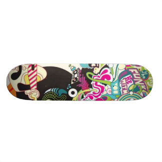 O funk seja com você shape de skate 20,6cm