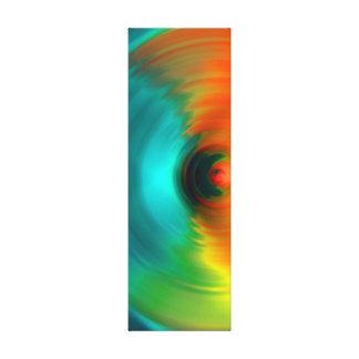 O furacão colorido No 2 Impressão Em Canvas