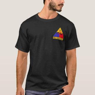 """ò FÚRIA nas rodas da divisão blindada """"inferno"""" Camiseta"""