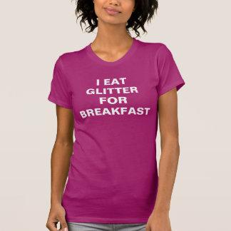 O fuscia das mulheres eu como o brilho para o pequ t-shirt