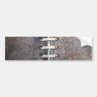 O futebol amarra o vertical adesivo