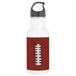 O futebol americano ostenta a garrafa de água