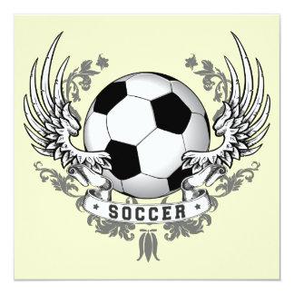 O futebol do futebol voa o convite