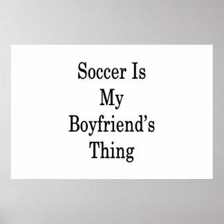 O futebol é a coisa do meu namorado pôster