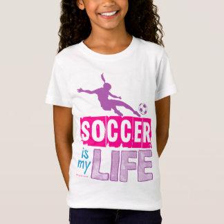 O futebol é minha vida camiseta