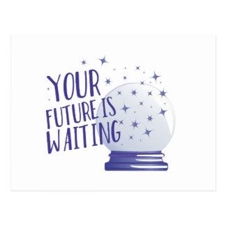 O futuro está esperando cartão postal
