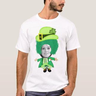 O gabarito irlandês do Dia de São Patrício, foto Camiseta