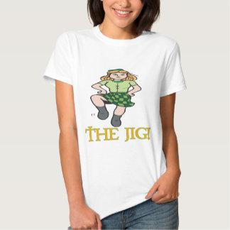 O gabarito t-shirts