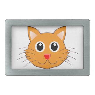O gato alaranjado com o nariz vermelho