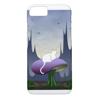 O gato branco capa iPhone 7