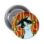 O gato de Klimt Boton