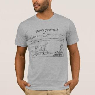 O gato de Schrödinger Camiseta