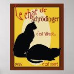 O gato de Schrodinger Poster