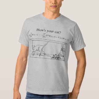 O gato de Schrödinger Tshirts