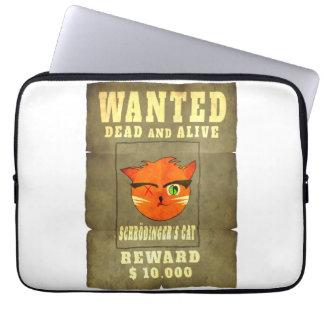 O gato de Schroedinger querido Capa Para Notebook