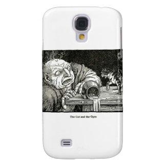 O gato e os trabalhos de arte do ogre galaxy s4 cover