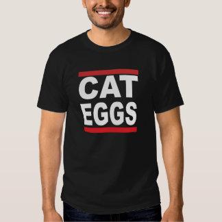 O gato Eggs a camisa Tshirts