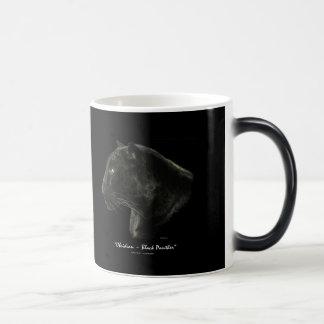 O gato grande preto de Jaguar FAZ MEUS PRETOS! Caneca Transmutação
