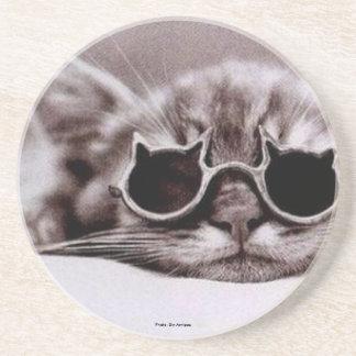 O gato o mais fresco vivo: Porta copos