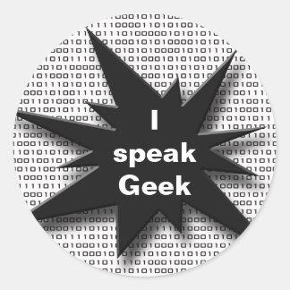 O geek fala adesivo