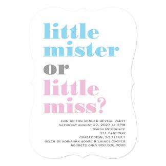 O género 311 revela o senhor pequeno Pequeno Convite 12.7 X 17.78cm