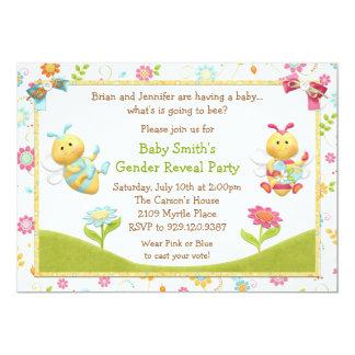 O género revela o convite de festas