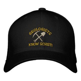 O geólogo engraçado sabe o Schist! Boné bordado