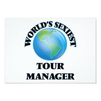 """O gerente o mais """"sexy"""" da excursão do mundo convites personalizado"""