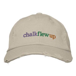 o giz voou acima de (o chapéu khaki) boné bordado