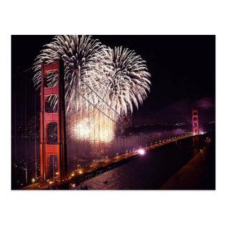 O Golden Gate comemora 75th cartão do aniversário