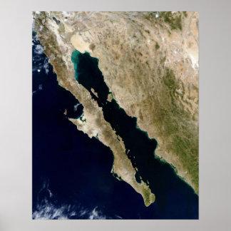 O Golfo da Califórnia Poster