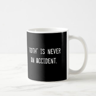 """O """"gótico"""" é nunca um acidente., """"gótico"""" é nunca… caneca de café"""