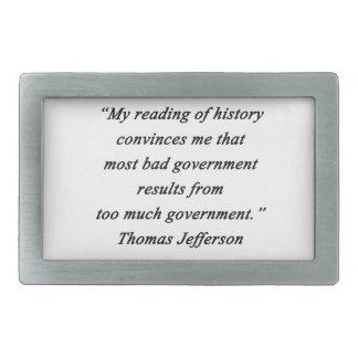 O governo mau - Thomas Jefferson
