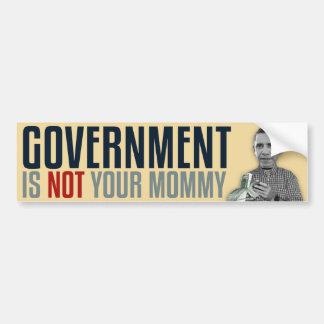 O governo não é sua mamãe adesivo para carro