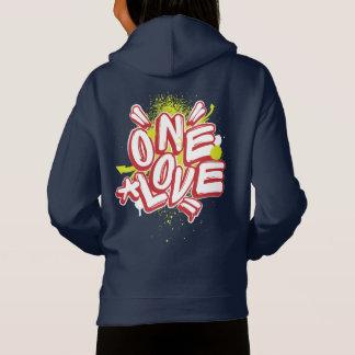 O grafite caçoa o Hoodie: Um amor Streewear