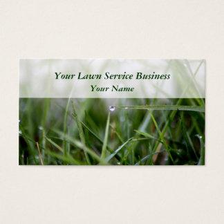 O gramado presta serviços de manutenção a cartões