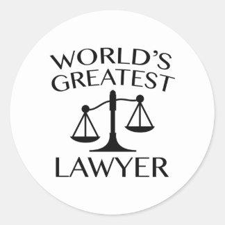 O grande advogado do mundo adesivo