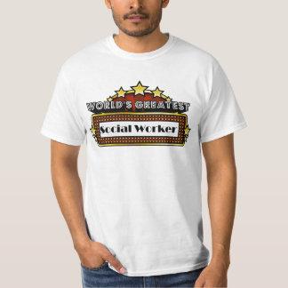 O grande assistente social do mundo tshirt