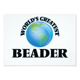 O grande Beader do mundo Convite Personalizados