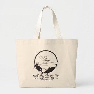 O grande bolsa do atum amarelo Woozy