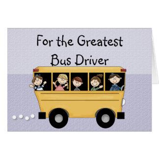 O grande cartão customizável do motorista de auto