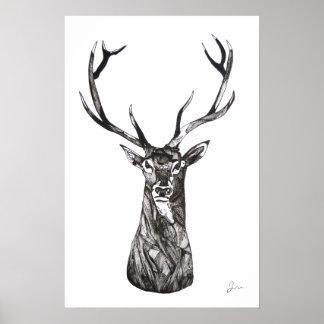 O Grande Cervo Impressão