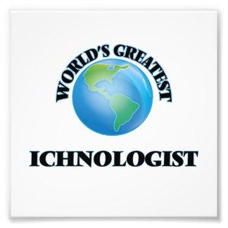 O grande Ichnologist do mundo Impressão De Fotos