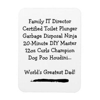 O grande ímã do pai - customizável