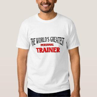 O grande instrutor pessoal do mundo camisetas