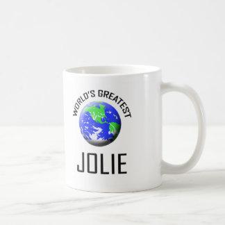 O grande Jolie do mundo Canecas