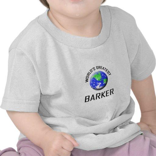 O grande ladrador do mundo t-shirt