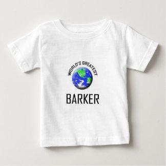 O grande ladrador do mundo tshirts