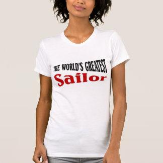 O grande marinheiro do mundo t-shirts